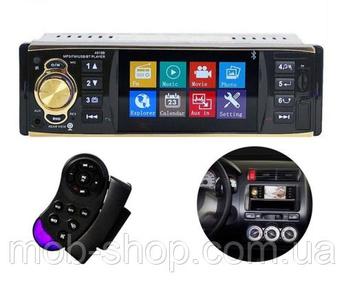 "Автомагнитола пионер Pioneer 4019 экран 4""+Bluetooth+видео вход"