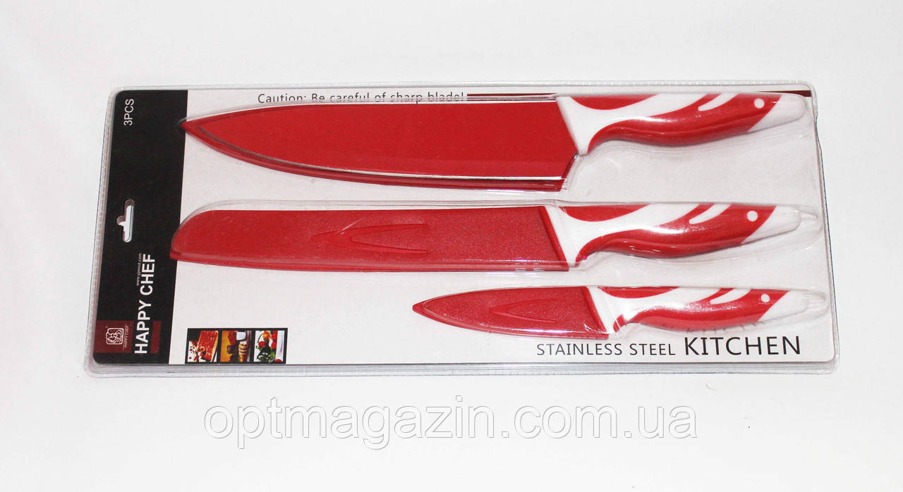 Ножи кухонные набор. Набор металлокерамических ножей