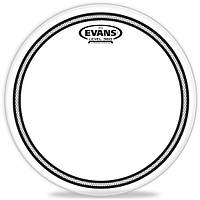 """Пластик 10"""" EVANS EC2 прозрачный двухслойный с демпферным кольцом"""
