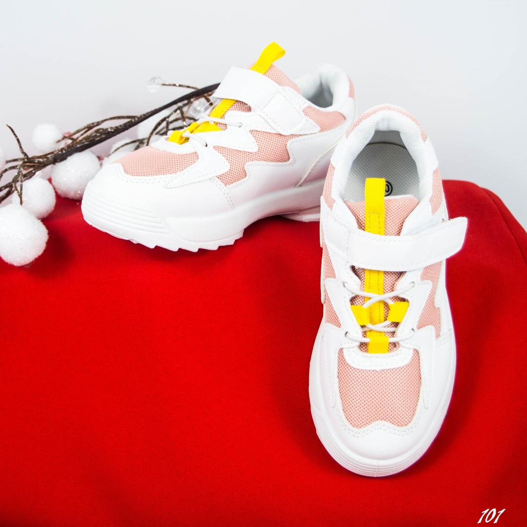 0035b93d Детские летние кроссовки белый/пудра,эко кожа/сетка.: продажа, цена ...