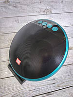 Портативная колонка JBL TG-036 (Bluetooth, FM, USB, 2 динамика, подставка для телефона) black/blue