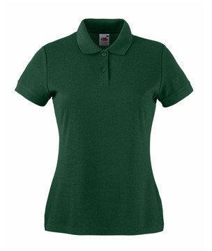 Женская футболка Поло 212-38-В468  fruit of the loom
