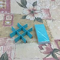 Перегородка для 9  конфет Бирюза 120*120*30 , фото 1