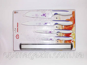 Ножі кухонні набір. Набір Металокерамічних ножів, фото 2