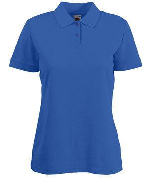 Женская футболка Поло 212-51-В471  fruit of the loom