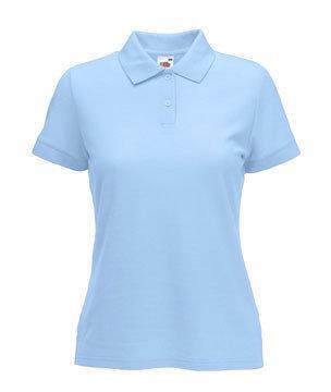 Женская футболка Поло 212-УТ-В474  fruit of the loom