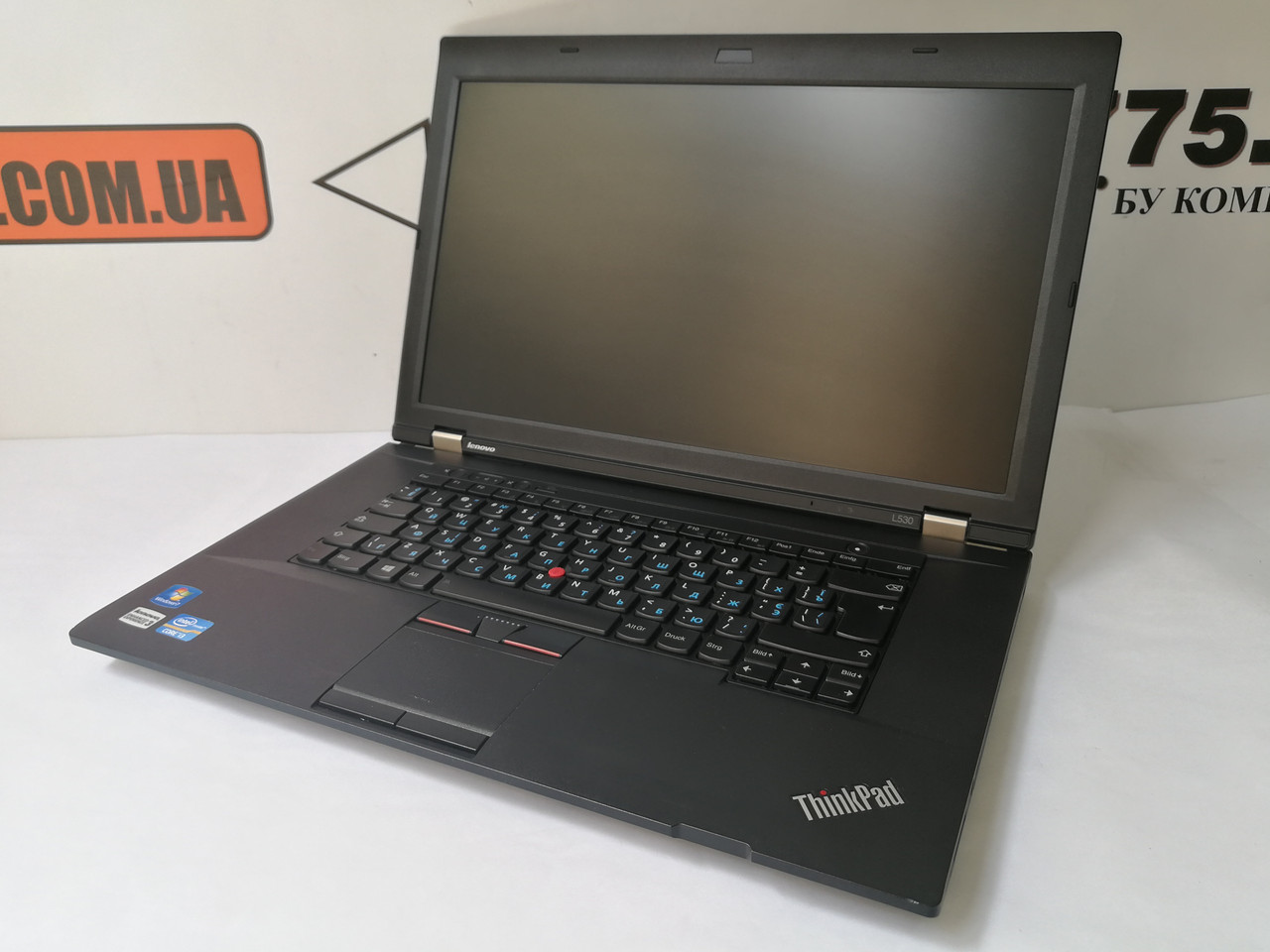 "Ноутбук Lenovo ThinkPad L530, 15.6"", Intel Core i3-3120M 2.5GHz, RAM 8ГБ, SSD 120ГБ"