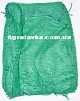 Сетка овощная 40х60 (до 18кг) 16г зелёная, овощная сетка оптом