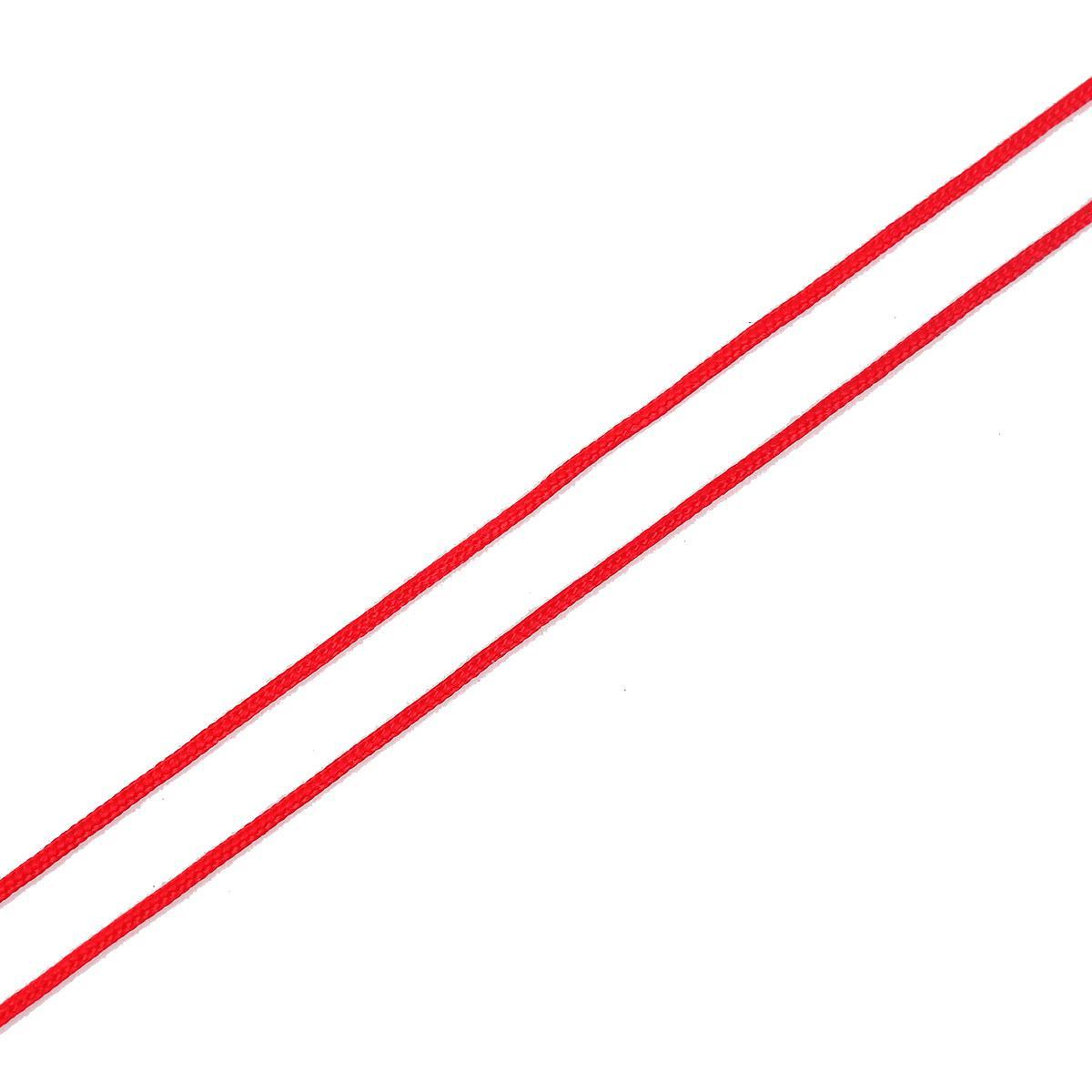 Мотузка, Шнур, Нитка, Червоний, Поліестер, 1.0 мм