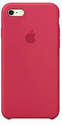 Чехол накладка на iPhone 5/5s/se Silicone Case Rose Red