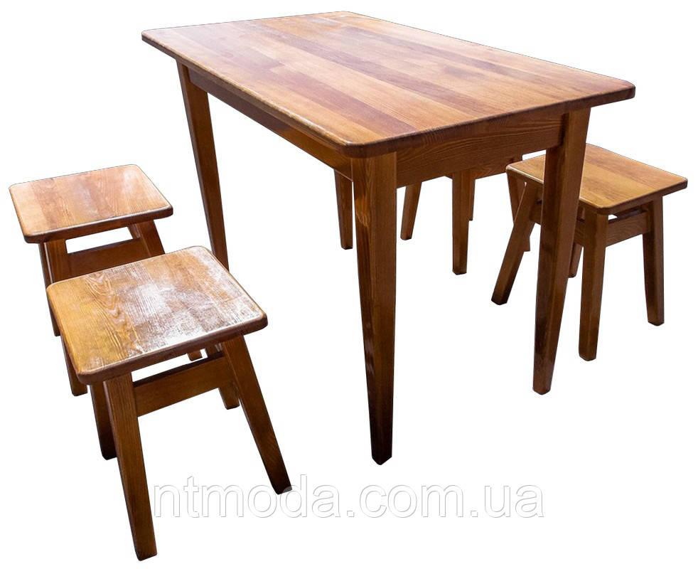 Стол кухонный с табуретками. СД-002-2