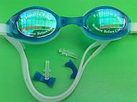 Очки для плавания, силикон. 753, фото 1