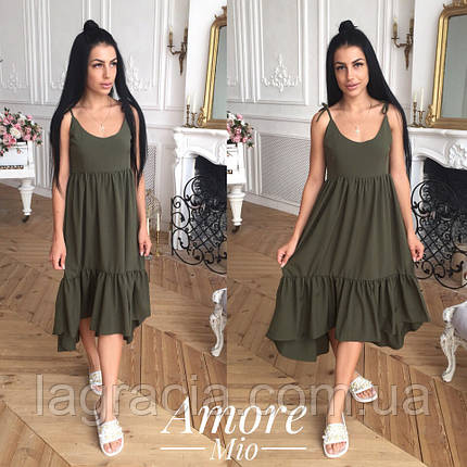 Свободное длинное летнее платье , фото 2