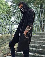 Стильная мужская черная мантия