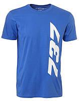 Оригинальная футболка Boeing 737 Insignia T-Shirt 1100100109310001 (Blue)