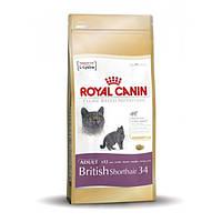 Royal Canin сухой корм для британских короткошерстных кошек старше 12 месяцев - 400 г
