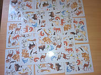 Зоопаника игра, развивающая память и внимание одновременно (15 животных)