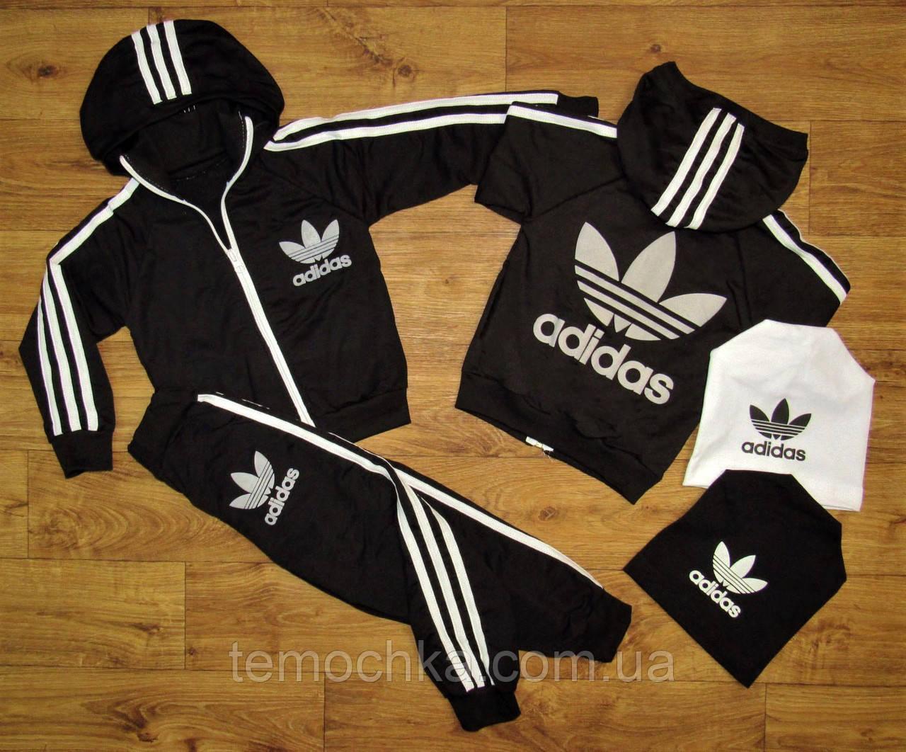 Спортивный костюм Adidas Clasic. Черный.