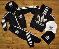 Спортивные костюмы  adidas clasic. Черный.