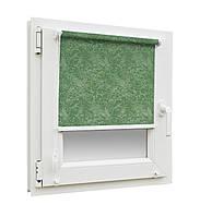 Ролеты тканевые ткань Агат 2159 зеленый