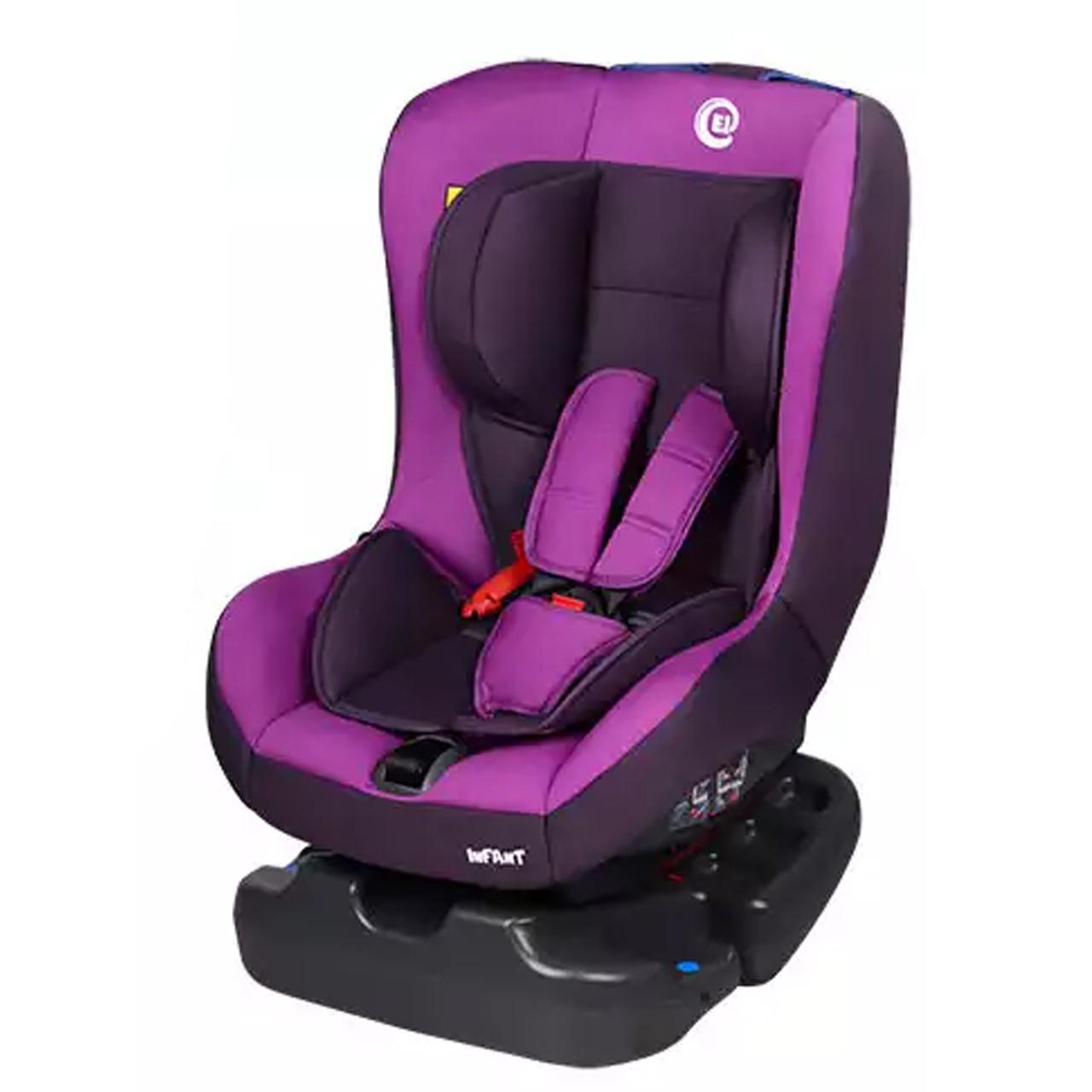 Автокресло 0-18 кг EL CAMINO INFANT фиолетовое