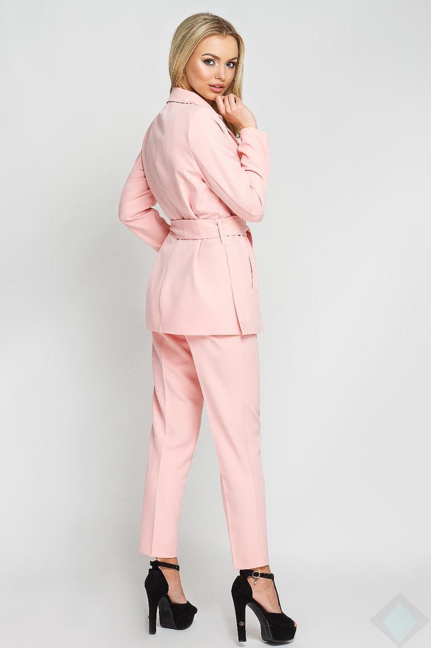 9f13321a921f Модный розовый костюм с брюками Одри 42