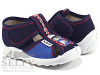 """Текстильные тапочки для мальчика  р.21,22,23,24,25,26,27 тм """"Валди"""", (мокасины, слипоны, текстильная обувь), фото 1"""