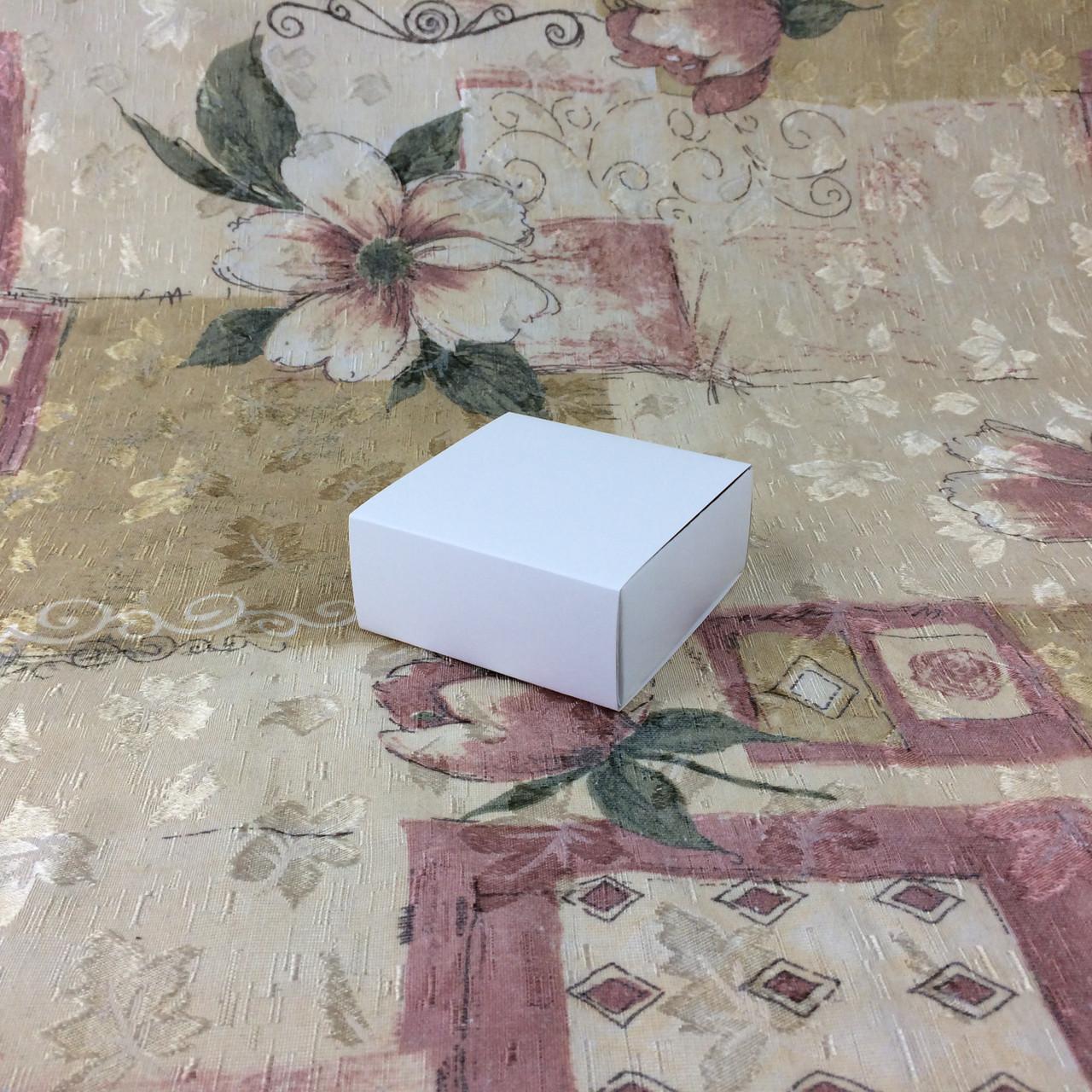 Коробка для пряников / 80х80х35 мм / Белая / б.о.