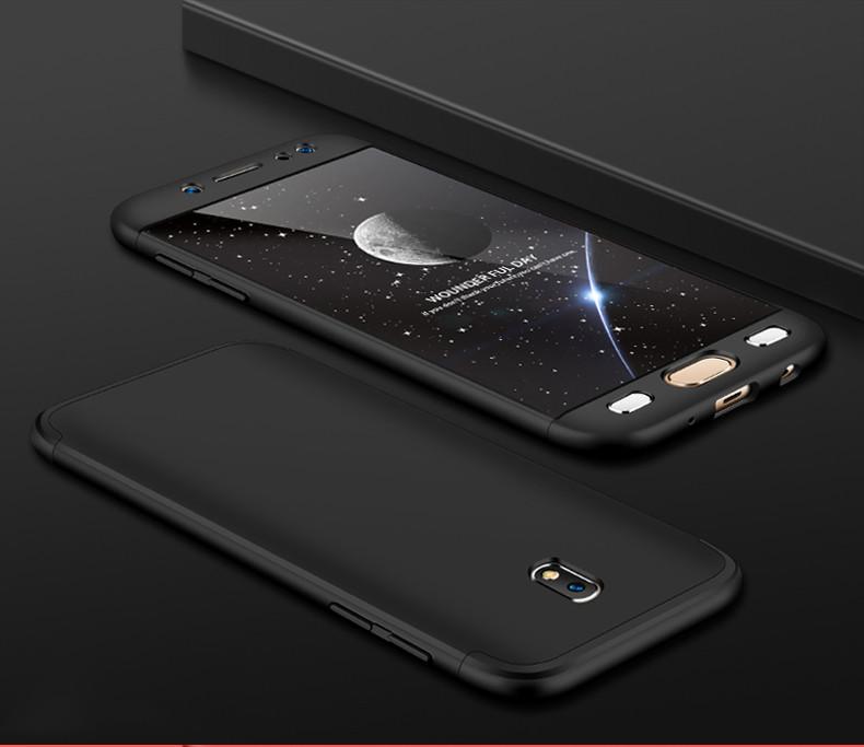 Чехол GKK 360 для Samsung J5 2017 J530 бампер оригинальный Black