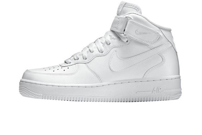 Оригинальные кроссовки Nike Air Force 1 Mid 07 White (ART. 315123 111) 6d875728799