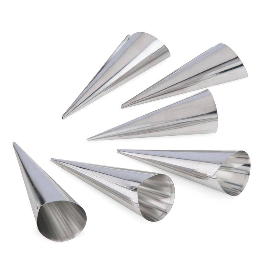 Корнетики трубочки для круасанов 5 шт
