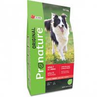 Pronature Original Dog Lamb Peas&Barley ПРОНАТЮР ОРИДЖИНАЛ ЯГНЕНОК ГОРОХ C ЯЧМЕНЕМ корм для собак,11.3кг
