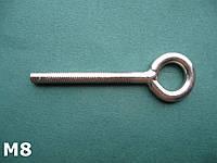 Нержавеющее кольцо талрепа с правой резьбой М 8