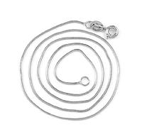 Серебряная цепочка стерлинговое серебро 925 пробы (код 1052)