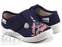"""Текстильные тапочки для мальчика р.24.25.26.27.28.29.30 тм """"Валди"""", (мокасины, слипоны, текстильная обувь), фото 1"""