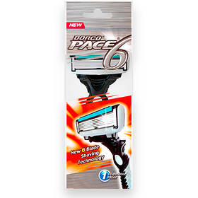 Станок для бритья DORCO PACE6 (SXA100-1p) D0008