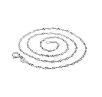 Серебряная цепочка стерлинговое серебро 925 пробы (код 1054)