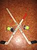 Набор для игры в  хоккей на траве и на льду маленький