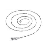 Серебряная цепочка стерлинговое серебро 925 пробы (код 1055)