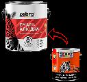 Алкидная эмаль для пола ПФ-266 Зебра (красно-коричневая), фото 2