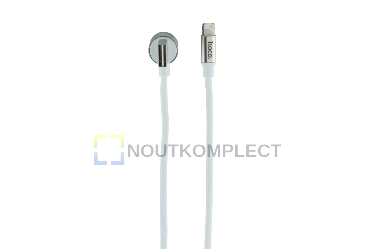 Кабель Lightning+Micro-USB Hoco - U18 1,2 м White