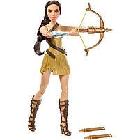 Колекційна лялька Барбі Диво Порідіння з цибулею / Bow-Лопатою Wonder Woman, фото 5