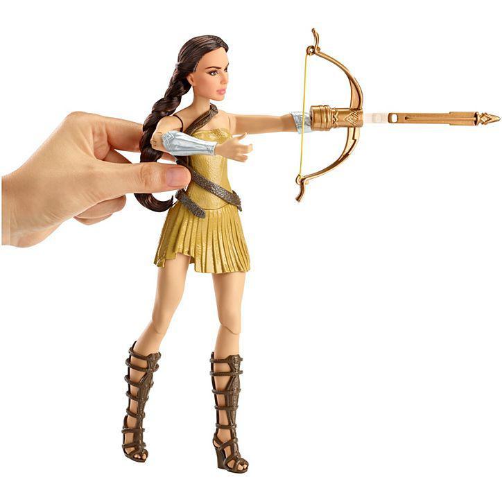 Колекційна лялька Барбі Диво Порідіння з цибулею / Bow-Лопатою Wonder Woman