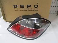 Фонарь задний правый DEPO 442-1968R-UE (для 5-ти дверных авто, дымчатый) OPEL ASTRA H 07->