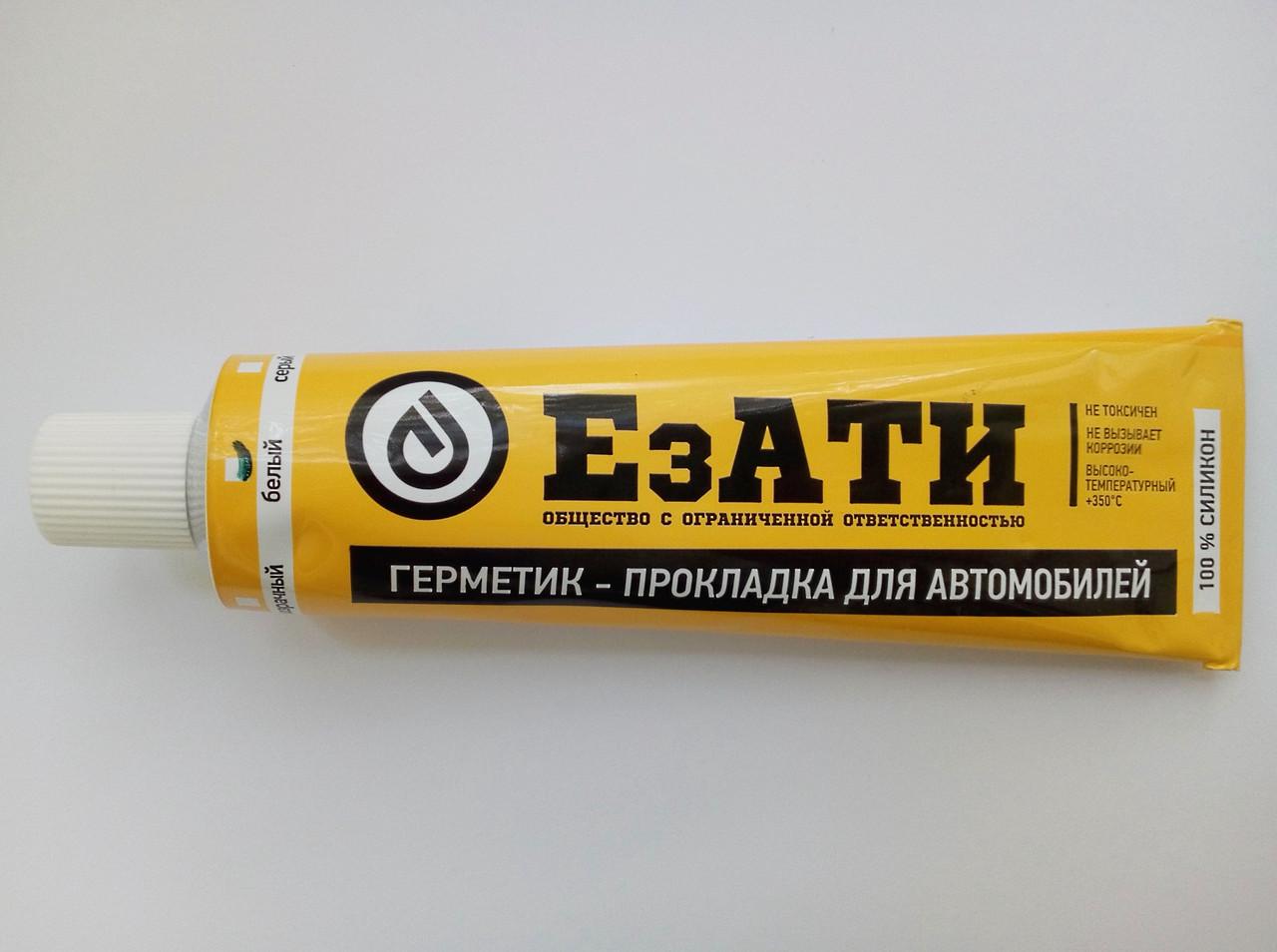 Герметик-прокладка 180г. (белый) t -50 +350 Универсальный ЕЗАТИ