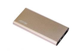 Power Bank Aspor A373 6000 mAh ( 2usb/1a+2.1A) металлический золото