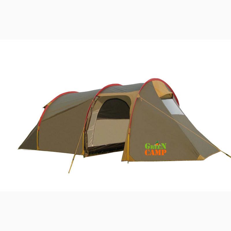 Палатка 3-х местная GreenCamp Х-1017
