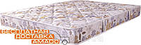 Матрац безпружинний для односпальним ліжка Matroluxe Монтана ППУ 2 в 1 80х190, фото 1