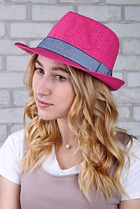 Шляпа челентанка Валаам малиновая