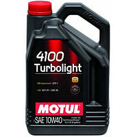 Масло моторное Motul 4100 Turbolight 10W-40 4л